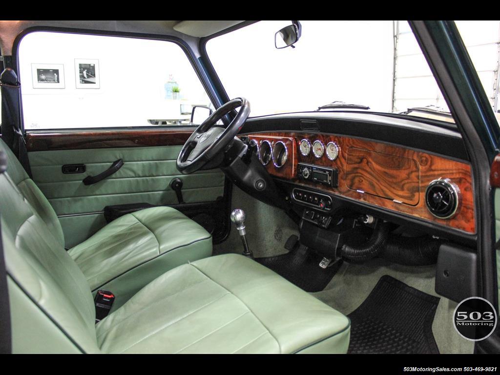 1975 Mini Cooper Gorgeous LHD w/ Only 39k Miles! - Photo 32 - Beaverton, OR 97005