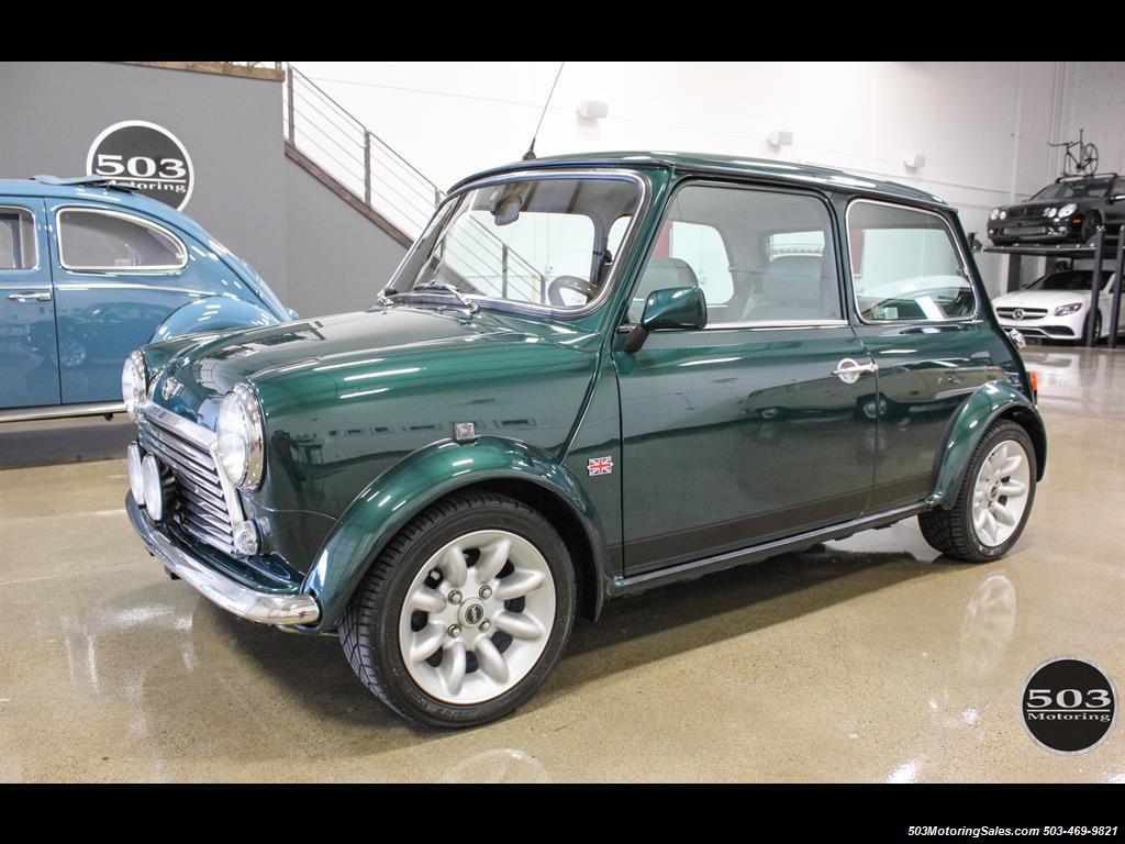 1975 Mini Cooper Gorgeous Lhd W Only 39k Miles