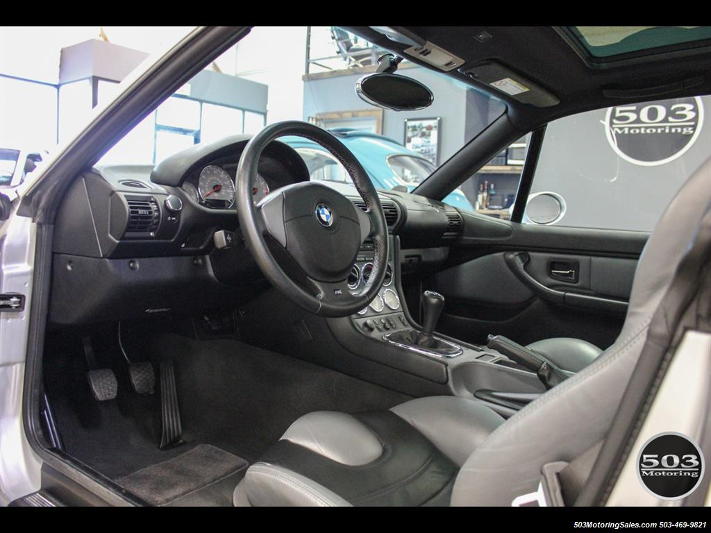 2001 BMW M Coupe; S54 in Silver w/ Only 23k Miles! - Photo 25 - Beaverton, OR 97005