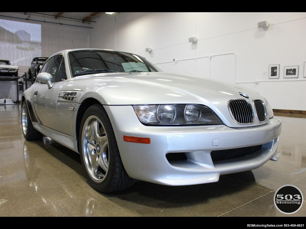 2001 BMW M Coupe; S54 in Silver w/ Only 23k Miles! - Photo 7 - Beaverton, OR 97005