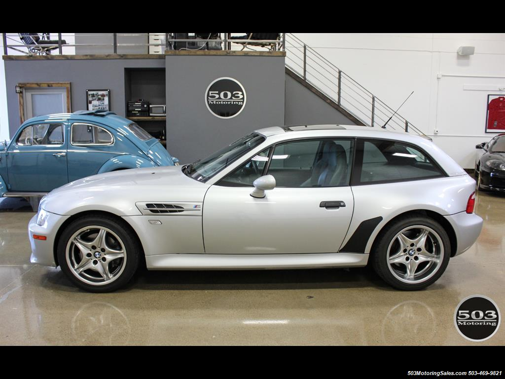 2001 BMW M Coupe; S54 in Silver w/ Only 23k Miles! - Photo 2 - Beaverton, OR 97005