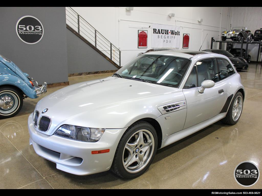 2001 BMW M Coupe; S54 in Silver w/ Only 23k Miles! - Photo 1 - Beaverton, OR 97005