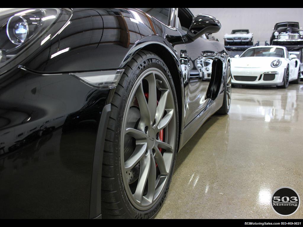 2016 Porsche Cayman GT4; Black w/ Full Buckets & Only 895 Miles! - Photo 24 - Beaverton, OR 97005