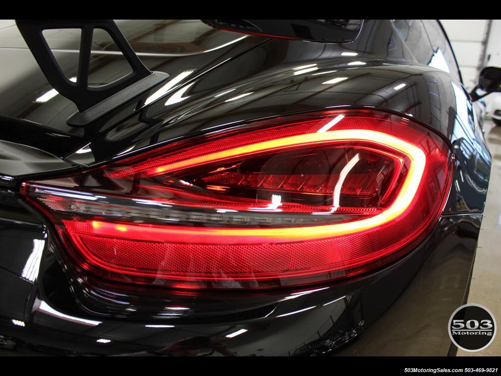 2016 Porsche Cayman GT4; Black w/ Full Buckets & Only 895 Miles! - Photo 17 - Beaverton, OR 97005