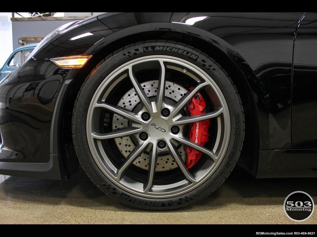 2016 Porsche Cayman GT4; Black w/ Full Buckets & Only 895 Miles! - Photo 31 - Beaverton, OR 97005