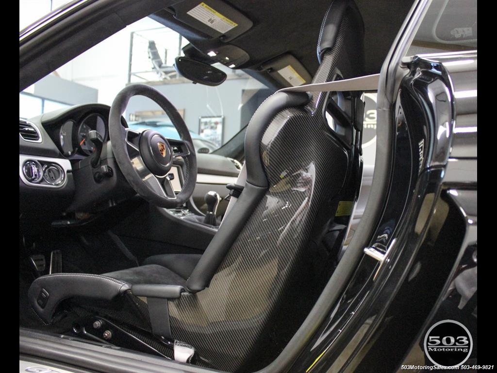 2016 Porsche Cayman GT4; Black w/ Full Buckets & Only 895 Miles! - Photo 44 - Beaverton, OR 97005