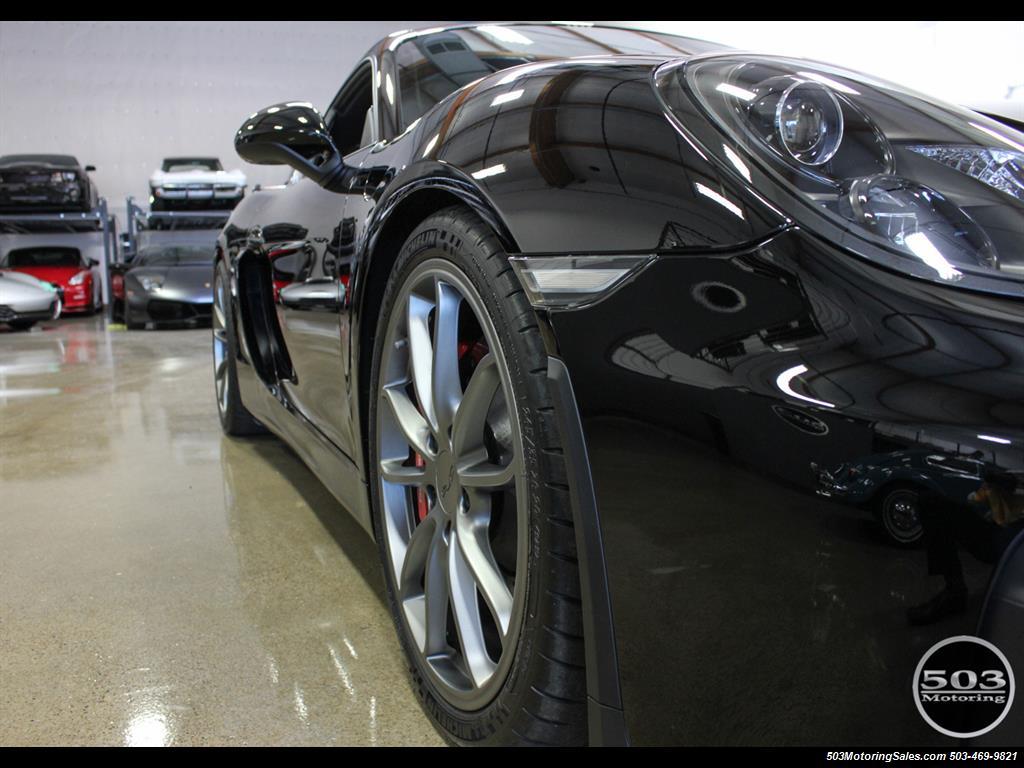 2016 Porsche Cayman GT4; Black w/ Full Buckets & Only 895 Miles! - Photo 26 - Beaverton, OR 97005