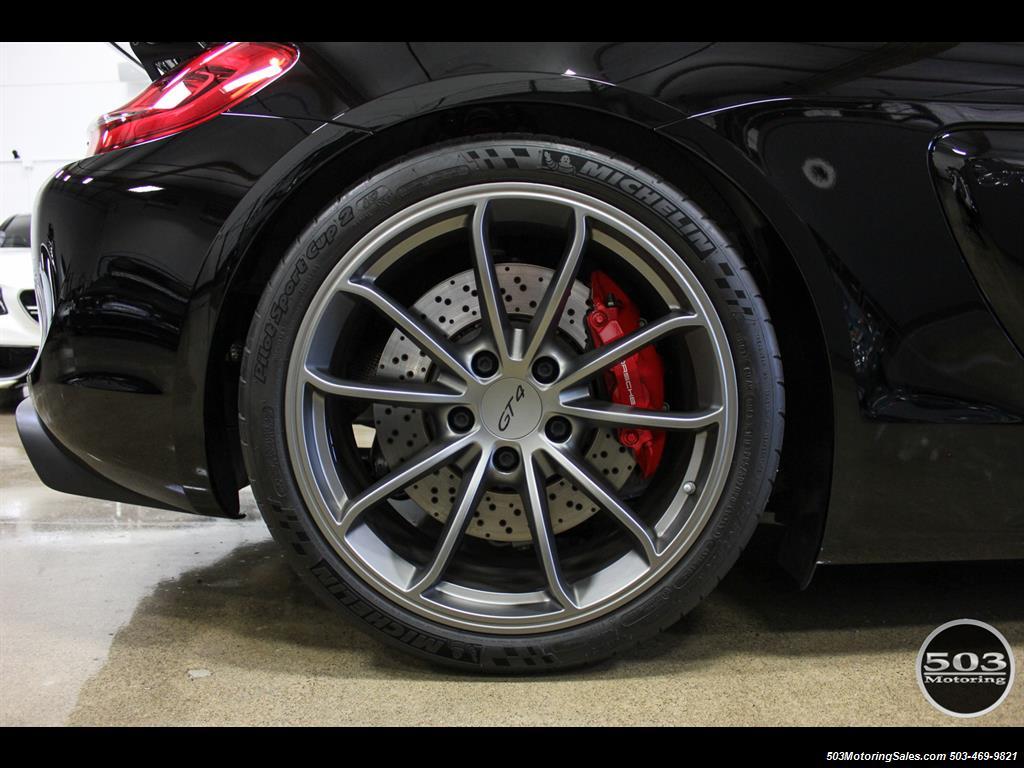 2016 Porsche Cayman GT4; Black w/ Full Buckets & Only 895 Miles! - Photo 33 - Beaverton, OR 97005