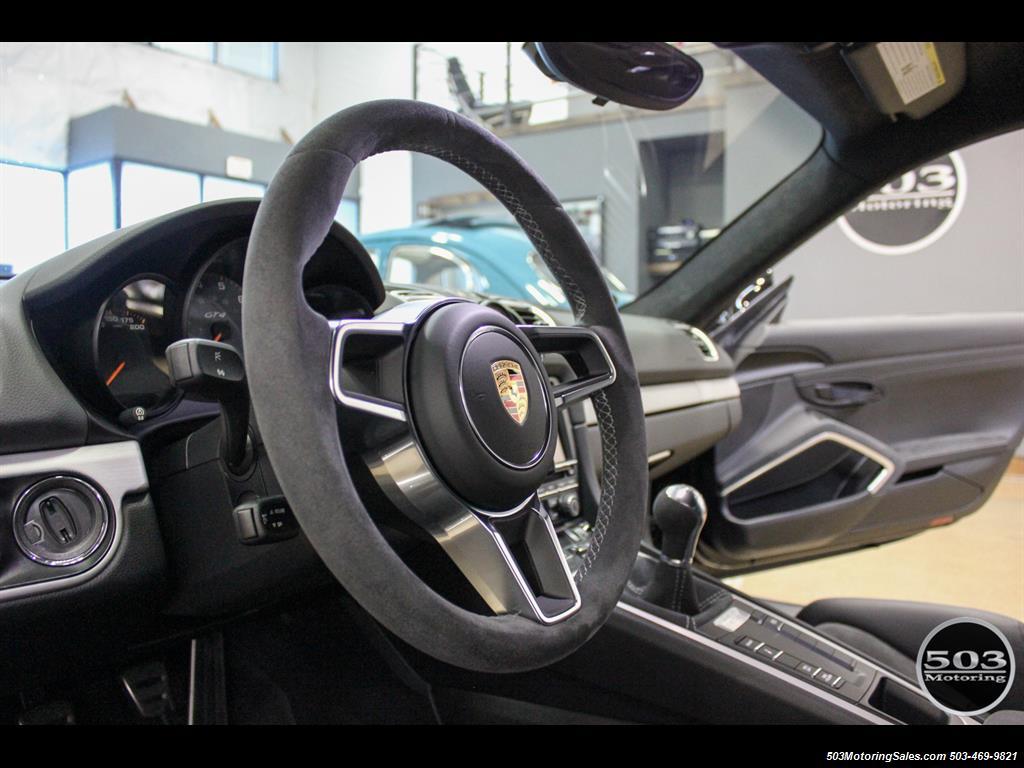 2016 Porsche Cayman GT4; Black w/ Full Buckets & Only 895 Miles! - Photo 36 - Beaverton, OR 97005