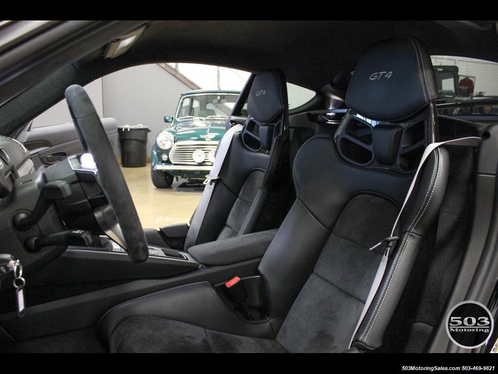 2016 Porsche Cayman GT4; Black w/ Full Buckets & Only 895 Miles! - Photo 37 - Beaverton, OR 97005