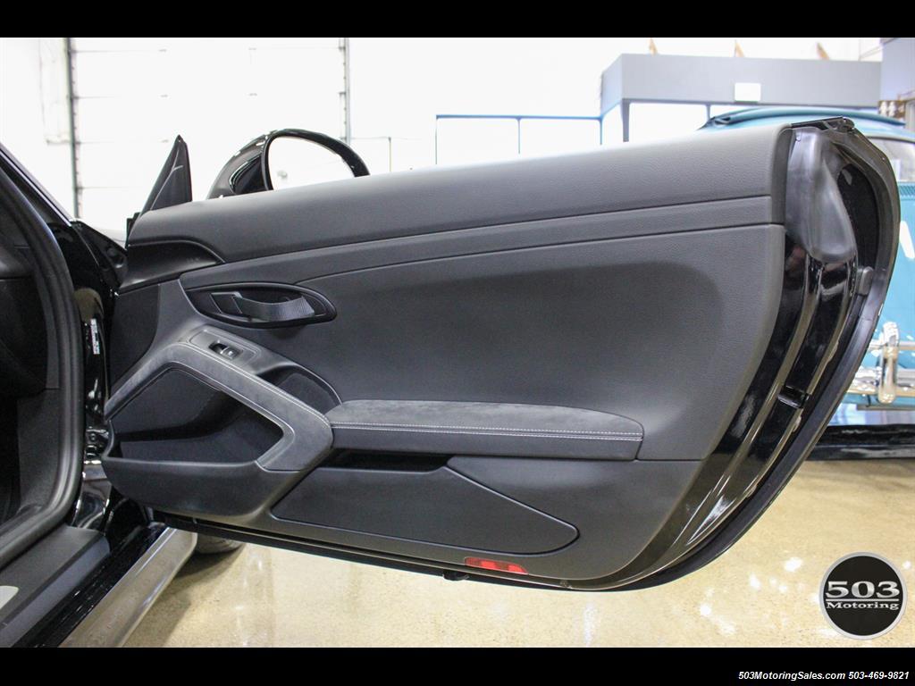 2016 Porsche Cayman GT4; Black w/ Full Buckets & Only 895 Miles! - Photo 51 - Beaverton, OR 97005