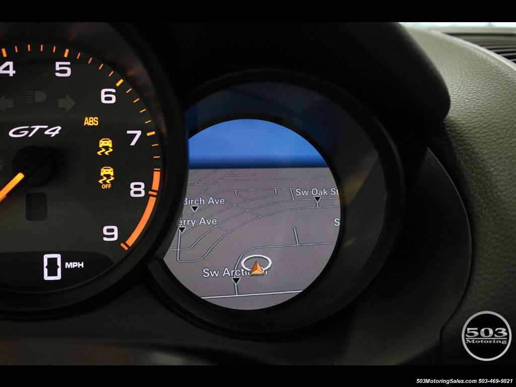 2016 Porsche Cayman GT4; Black w/ Full Buckets & Only 895 Miles! - Photo 39 - Beaverton, OR 97005