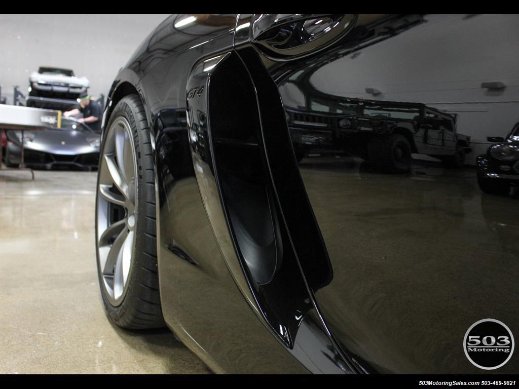 2016 Porsche Cayman GT4; Black w/ Full Buckets & Only 895 Miles! - Photo 27 - Beaverton, OR 97005