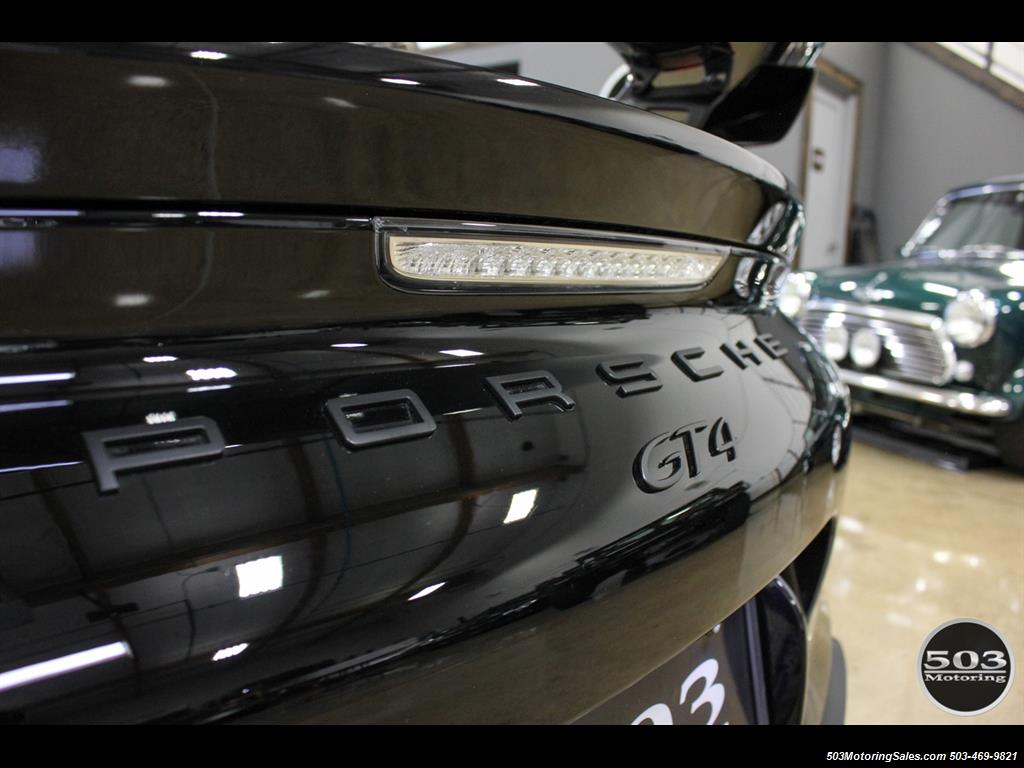 2016 Porsche Cayman GT4; Black w/ Full Buckets & Only 895 Miles! - Photo 19 - Beaverton, OR 97005