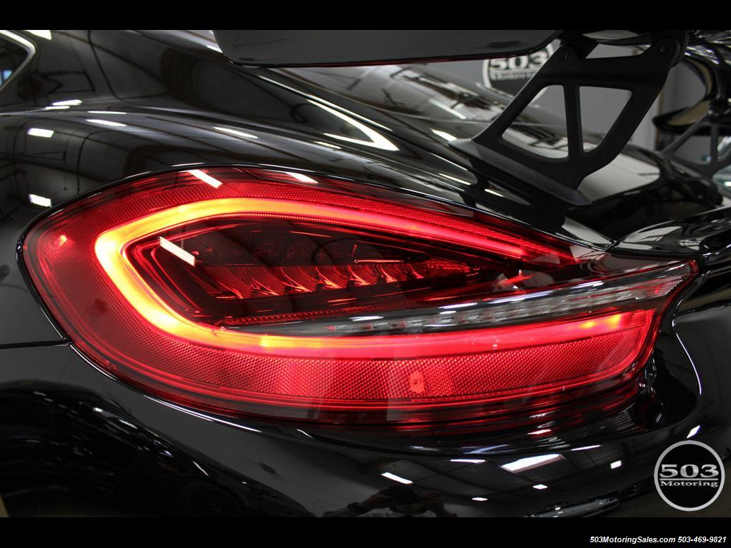 2016 Porsche Cayman GT4; Black w/ Full Buckets & Only 895 Miles! - Photo 18 - Beaverton, OR 97005