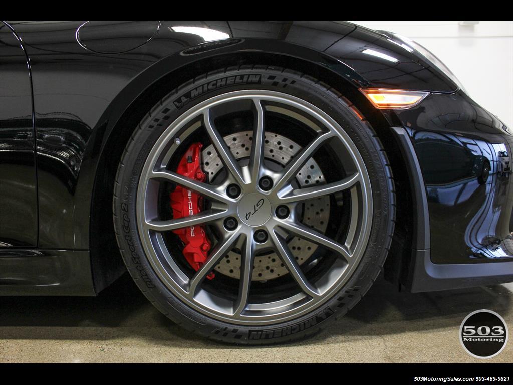 2016 Porsche Cayman GT4; Black w/ Full Buckets & Only 895 Miles! - Photo 34 - Beaverton, OR 97005
