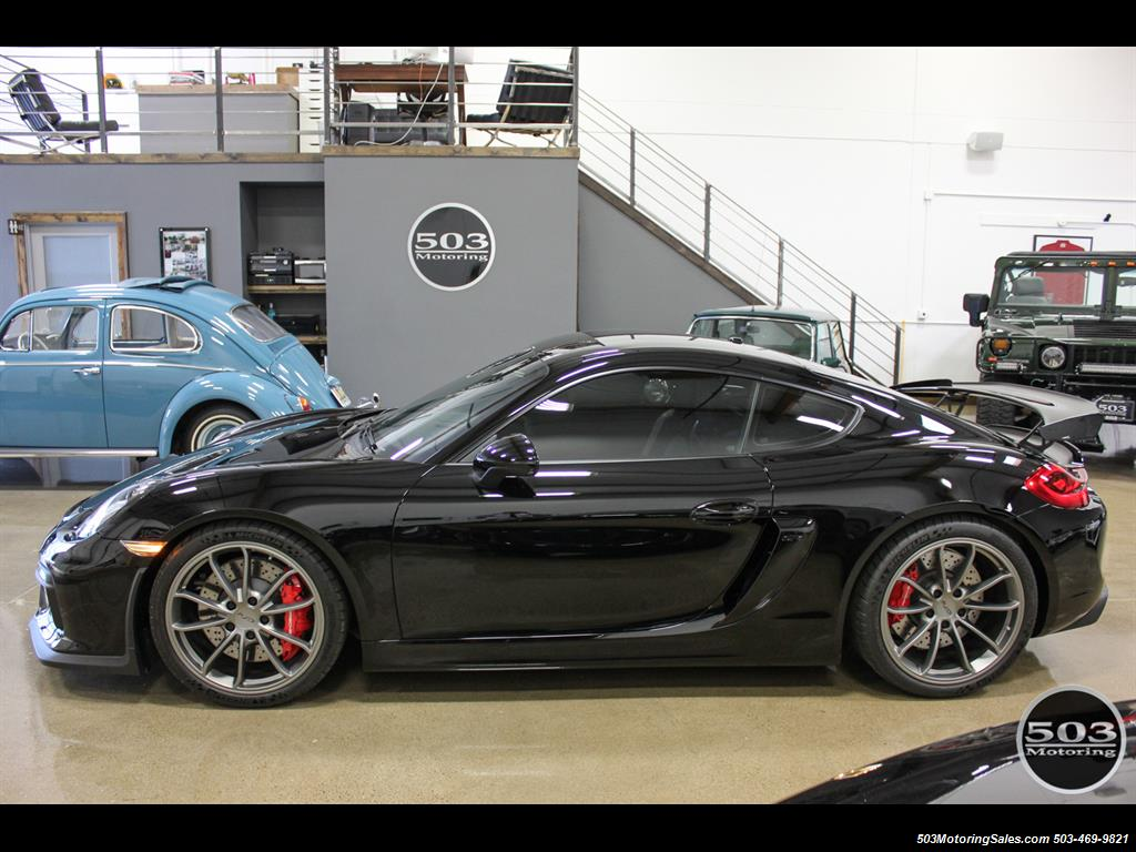 2016 Porsche Cayman GT4; Black w/ Full Buckets & Only 895 Miles! - Photo 2 - Beaverton, OR 97005