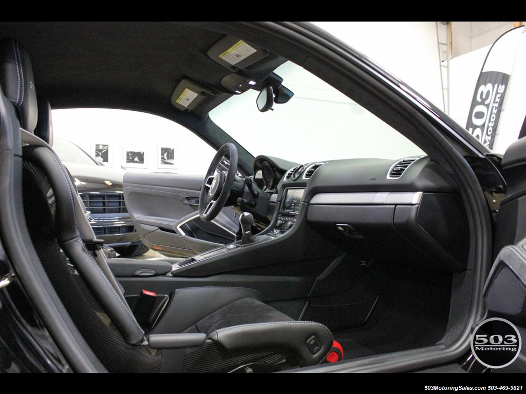 2016 Porsche Cayman GT4; Black w/ Full Buckets & Only 895 Miles! - Photo 47 - Beaverton, OR 97005