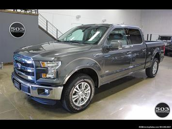 2016 Ford F-150 SuperCrew Lariat 3.5L, One Owner w/ 9k Miles! Truck
