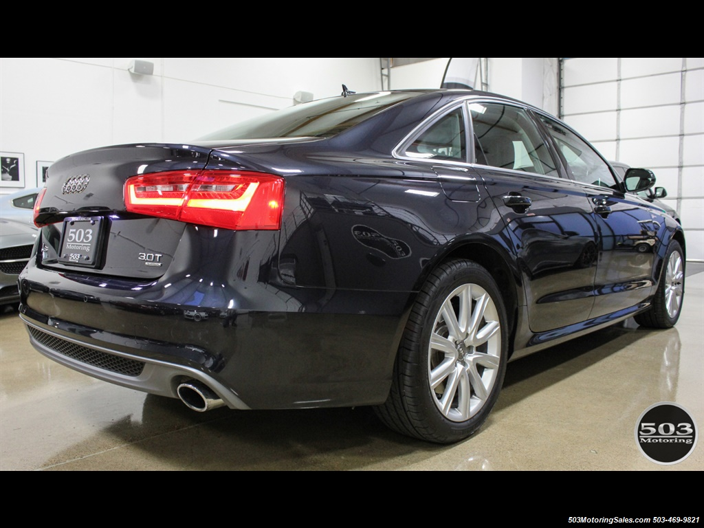 2013 Audi A6 3.0T quattro Prestige; One Owner w/ 33k Miles! - Photo 5 - Beaverton, OR 97005