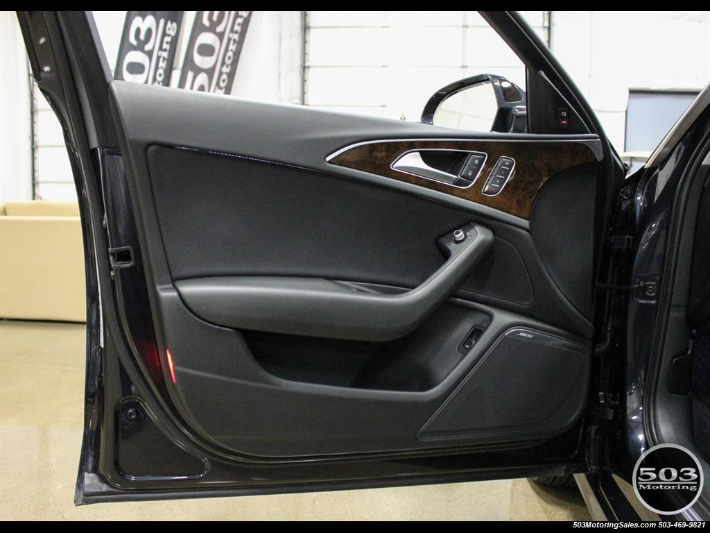 2013 Audi A6 3.0T quattro Prestige; One Owner w/ 33k Miles! - Photo 29 - Beaverton, OR 97005