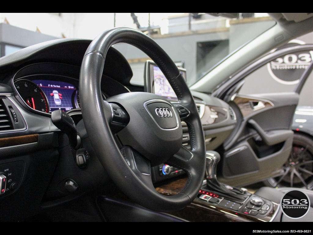 2013 Audi A6 3.0T quattro Prestige; One Owner w/ 33k Miles! - Photo 22 - Beaverton, OR 97005
