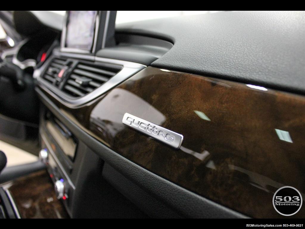 2013 Audi A6 3.0T quattro Prestige; One Owner w/ 33k Miles! - Photo 33 - Beaverton, OR 97005