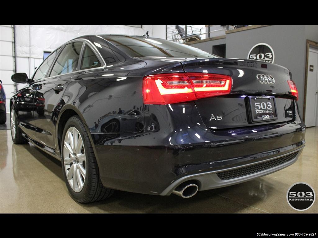 2013 Audi A6 3.0T quattro Prestige; One Owner w/ 33k Miles! - Photo 3 - Beaverton, OR 97005