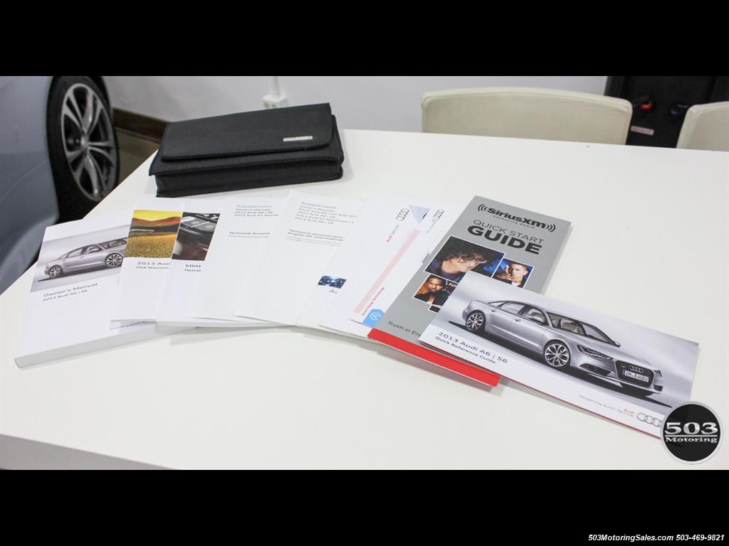 2013 Audi A6 3.0T quattro Prestige; One Owner w/ 33k Miles! - Photo 57 - Beaverton, OR 97005