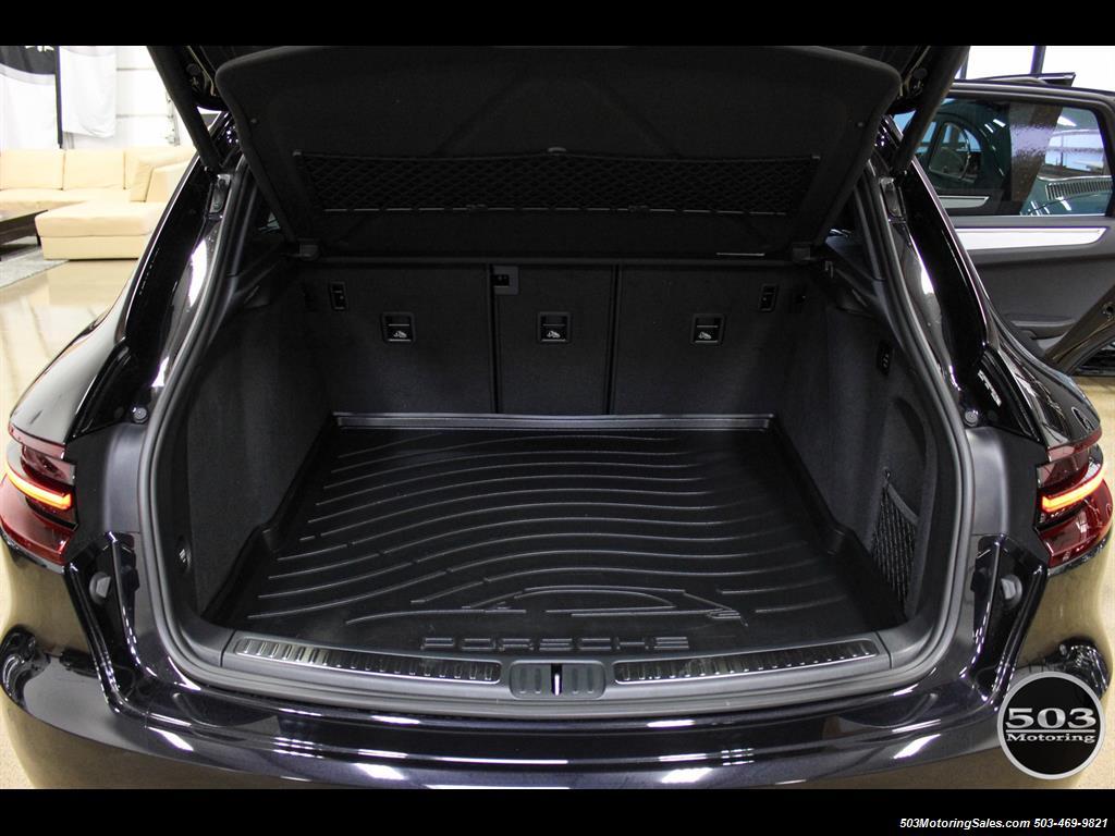 2017 Porsche Macan GTS; Black/Black w/ 2.5k Miles! - Photo 46 - Beaverton, OR 97005