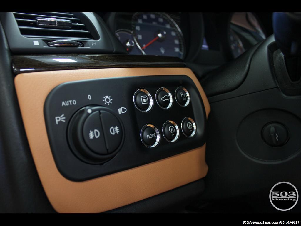 2010 Maserati GranTurismo S Automatic; One Owner w/ Only 8k Miles! - Photo 34 - Beaverton, OR 97005
