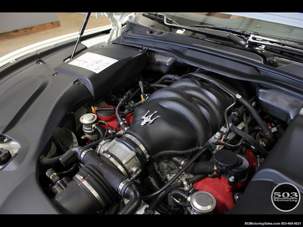 2010 Maserati GranTurismo S Automatic; One Owner w/ Only 8k Miles! - Photo 49 - Beaverton, OR 97005