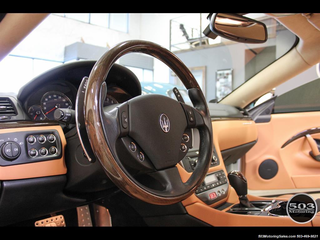 2010 Maserati GranTurismo S Automatic; One Owner w/ Only 8k Miles! - Photo 27 - Beaverton, OR 97005