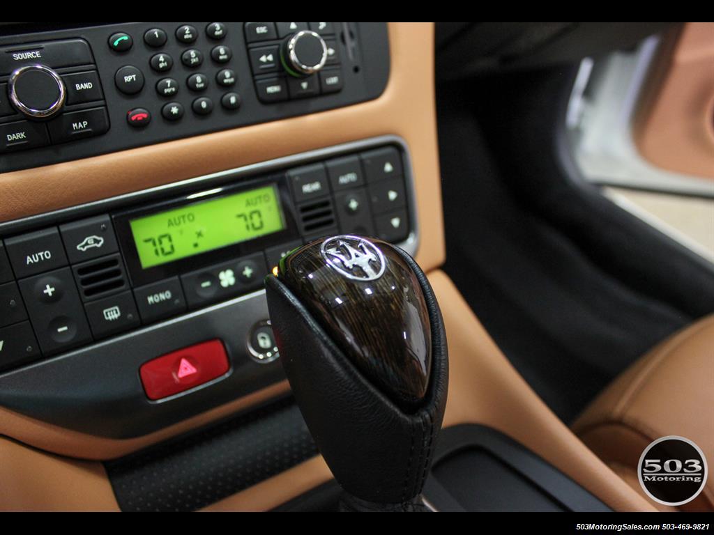 2010 Maserati GranTurismo S Automatic; One Owner w/ Only 8k Miles! - Photo 33 - Beaverton, OR 97005
