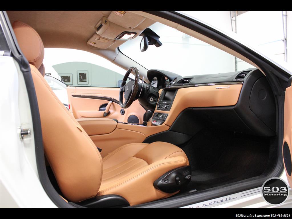 2010 Maserati GranTurismo S Automatic; One Owner w/ Only 8k Miles! - Photo 39 - Beaverton, OR 97005