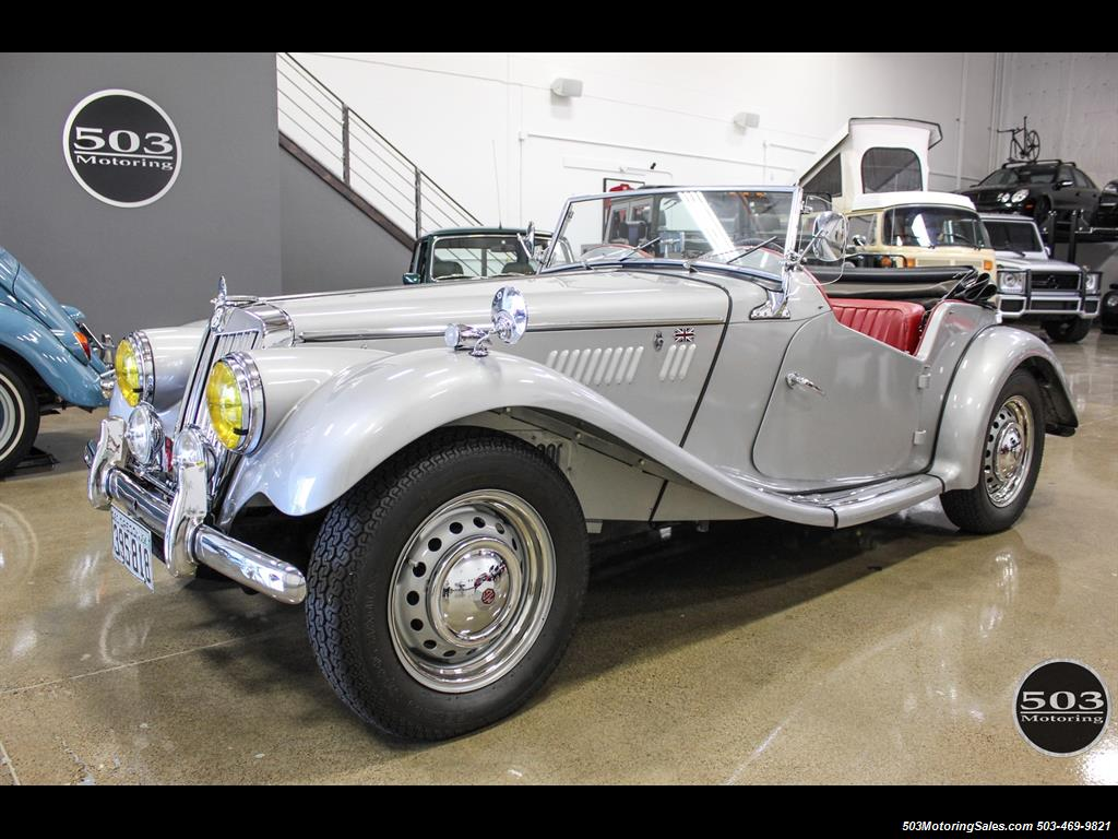 1954 MG TF; Excellent Condition, Same Owner Since 1969 - Photo 24 - Beaverton, OR 97005