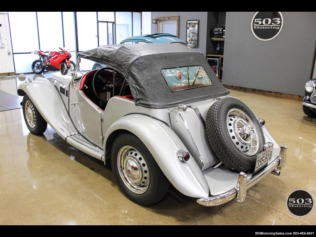 1954 MG TF; Excellent Condition, Same Owner Since 1969 - Photo 18 - Beaverton, OR 97005