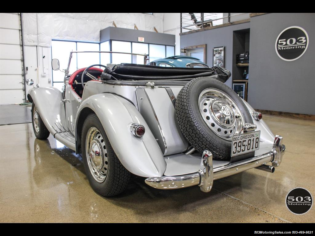 1954 MG TF; Excellent Condition, Same Owner Since 1969 - Photo 3 - Beaverton, OR 97005
