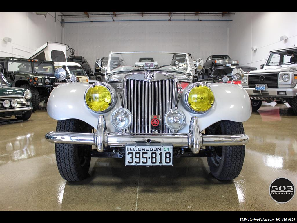 1954 MG TF; Excellent Condition, Same Owner Since 1969 - Photo 8 - Beaverton, OR 97005