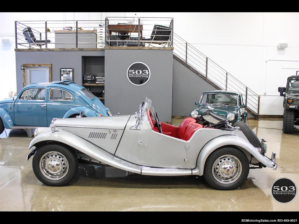 1954 MG TF; Excellent Condition, Same Owner Since 1969 - Photo 2 - Beaverton, OR 97005