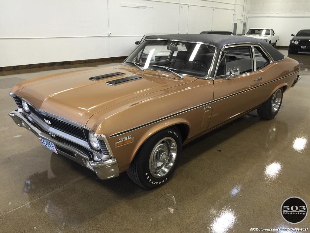 1970 Chevrolet Nova L34 M20 4 Spd Ss396 350hp