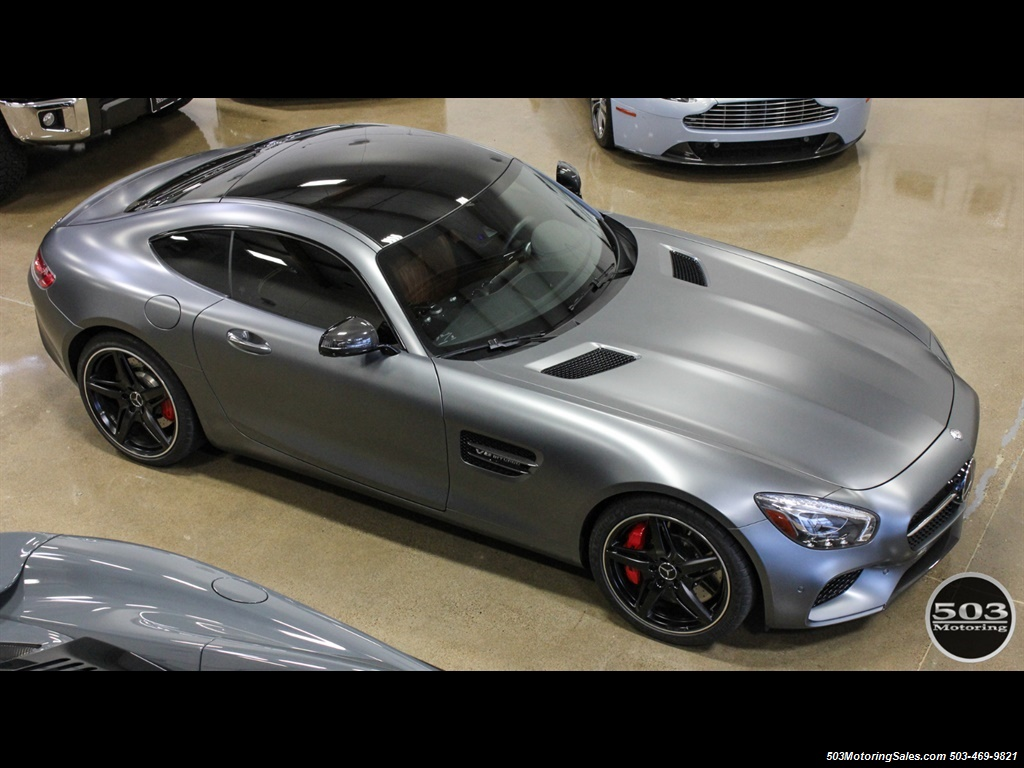 2016 Mercedes-Benz AMG GT S; Stunning Satin Grey w/ Tons of Carbon! - Photo 14 - Beaverton, OR 97005