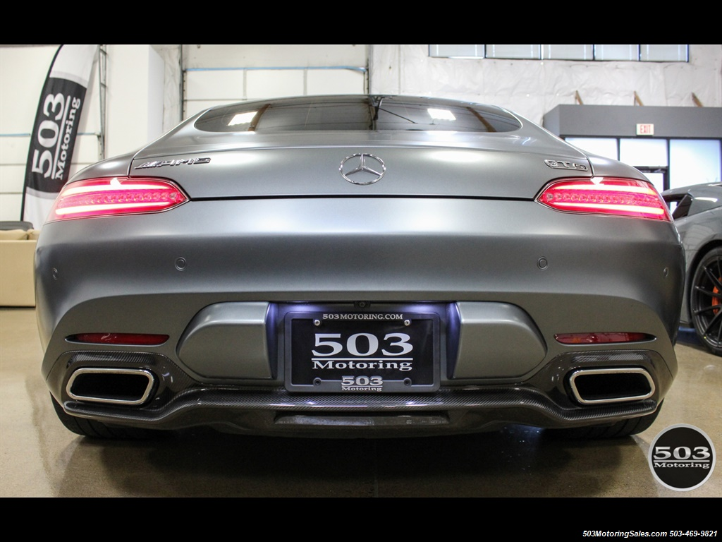 2016 Mercedes-Benz AMG GT S; Stunning Satin Grey w/ Tons of Carbon! - Photo 4 - Beaverton, OR 97005