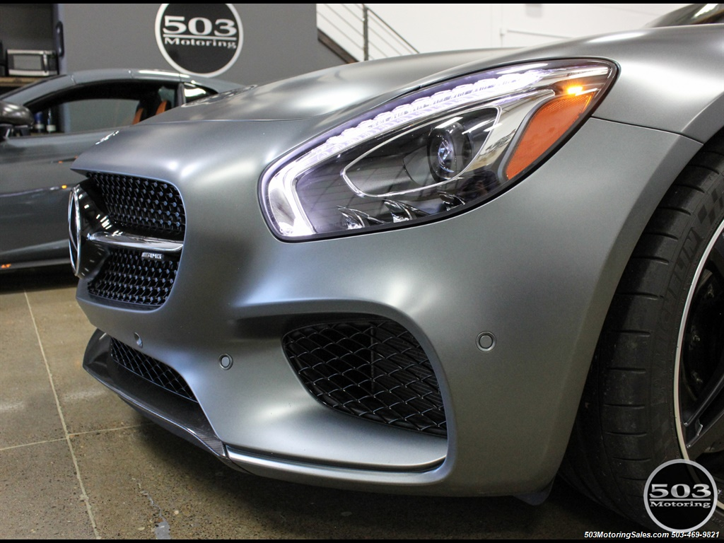 2016 Mercedes-Benz AMG GT S; Stunning Satin Grey w/ Tons of Carbon! - Photo 9 - Beaverton, OR 97005