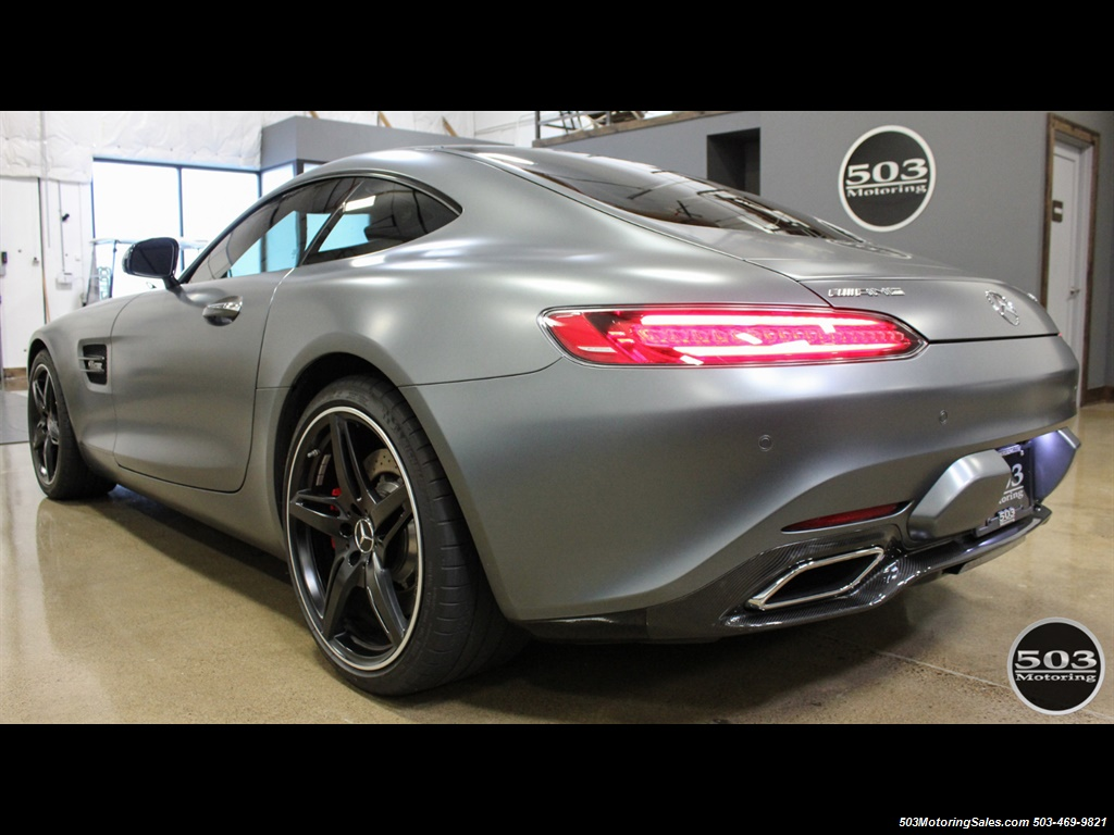 2016 Mercedes-Benz AMG GT S; Stunning Satin Grey w/ Tons of Carbon! - Photo 3 - Beaverton, OR 97005