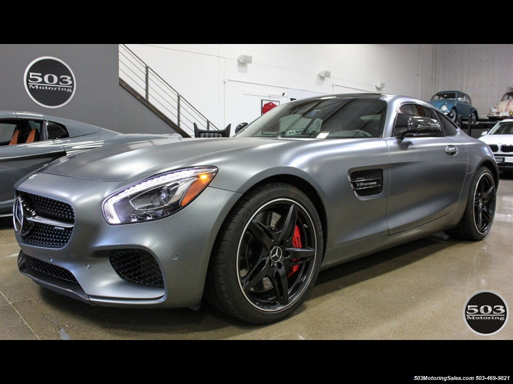 2016 Mercedes-Benz AMG GT S; Stunning Satin Grey w/ Tons of Carbon! - Photo 1 - Beaverton, OR 97005