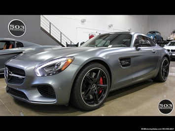 2016 Mercedes-Benz AMG GT S; Stunning Satin Grey w/ Tons of Carbon! Coupe