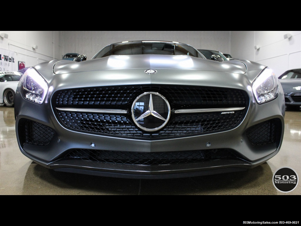 2016 Mercedes-Benz AMG GT S; Stunning Satin Grey w/ Tons of Carbon! - Photo 8 - Beaverton, OR 97005
