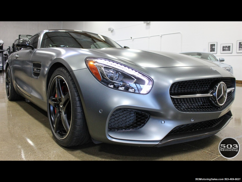 2016 Mercedes-Benz AMG GT S; Stunning Satin Grey w/ Tons of Carbon! - Photo 7 - Beaverton, OR 97005