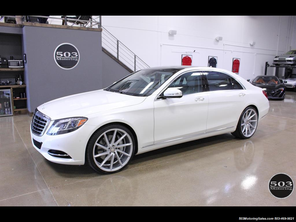 2016 Mercedes Benz S550 4matic Perfect Condition In Diamond White Photo 1